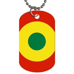 Roundel Of Bolivian Air Force Dog Tag (one Side) by abbeyz71