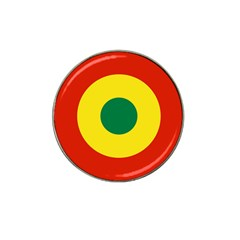 Roundel Of Bolivian Air Force Hat Clip Ball Marker (4 Pack) by abbeyz71