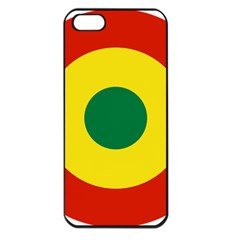 Roundel Of Bolivian Air Force Apple Iphone 5 Seamless Case (black) by abbeyz71