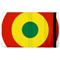 Roundel Of Bolivian Air Force Apple Ipad 3/4 Flip Case by abbeyz71