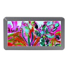 Dscf1472   Copy   Blooming Desert With Red Cactuses Memory Card Reader (mini) by bestdesignintheworld