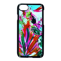 Dscf1472   Copy   Blooming Desert With Red Cactuses Apple Iphone 8 Seamless Case (black) by bestdesignintheworld