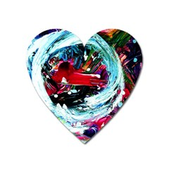 Dscf2356   Red Aierplane Heart Magnet by bestdesignintheworld