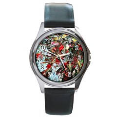 Dscf2312 Eden Garden 2 Round Metal Watch by bestdesignintheworld