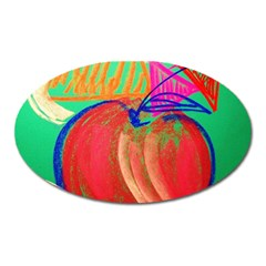 Dscf1425 (1)   Fruits And Geometry 2 Oval Magnet