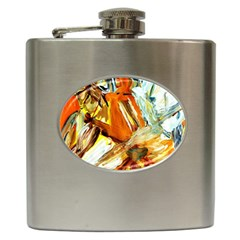 Dscf1503 - With Themis On A Shade Hip Flask (6 Oz) by bestdesignintheworld
