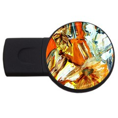 Dscf1503 - With Themis On A Shade Usb Flash Drive Round (4 Gb) by bestdesignintheworld