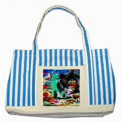 Dscf3313   Jerusalem   Gates Of Haven Striped Blue Tote Bag by bestdesignintheworld