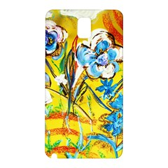 Dscf1422   Country Flowers In The Yard Samsung Galaxy Note 3 N9005 Hardshell Back Case