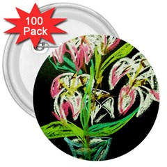 Dscf1389   Lillies In The Vase 3  Buttons (100 Pack)  by bestdesignintheworld