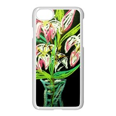 Dscf1389   Lillies In The Vase Apple Iphone 7 Seamless Case (white) by bestdesignintheworld