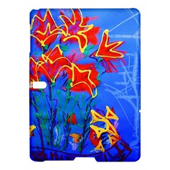 Dscf1433   Red Lillies Samsung Galaxy Tab S (10 5 ) Hardshell Case  by bestdesignintheworld