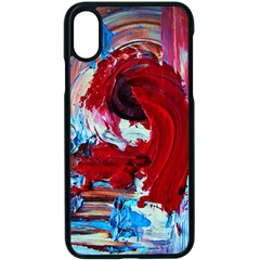 Dscf2258   Point Of View 1 Apple Iphone X Seamless Case (black)