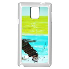 Dscf3214   Skier Samsung Galaxy Note 4 Case (white)