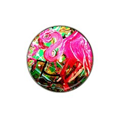 Dscf2035   Flamingo On A Chad Lake Hat Clip Ball Marker (10 Pack)