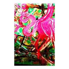 Dscf2035   Flamingo On A Chad Lake Shower Curtain 48  X 72  (small)