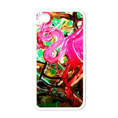 Dscf2035   Flamingo On A Chad Lake Apple Iphone 4 Case (white)