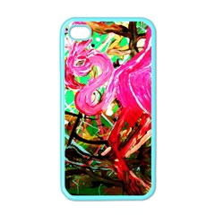 Dscf2035   Flamingo On A Chad Lake Apple Iphone 4 Case (color)