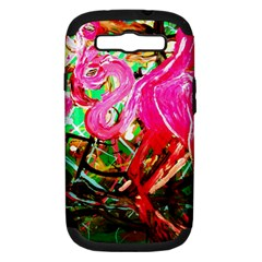 Dscf2035   Flamingo On A Chad Lake Samsung Galaxy S Iii Hardshell Case (pc+silicone)