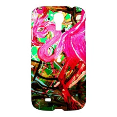 Dscf2035   Flamingo On A Chad Lake Samsung Galaxy S4 I9500/i9505 Hardshell Case