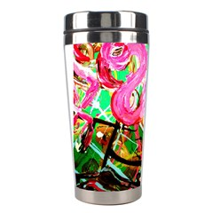 Dscf2035   Flamingo On A Chad Lake Stainless Steel Travel Tumblers