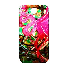 Dscf2035   Flamingo On A Chad Lake Samsung Galaxy S4 I9500/i9505  Hardshell Back Case