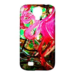 Dscf2035   Flamingo On A Chad Lake Samsung Galaxy S4 Classic Hardshell Case (pc+silicone)