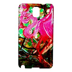 Dscf2035   Flamingo On A Chad Lake Samsung Galaxy Note 3 N9005 Hardshell Case