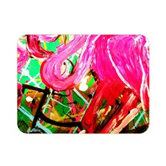 Dscf2035   Flamingo On A Chad Lake Double Sided Flano Blanket (mini)