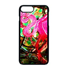 Dscf2035   Flamingo On A Chad Lake Apple Iphone 8 Plus Seamless Case (black)