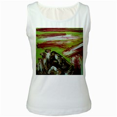 Dscf3217   Parthenon Women s White Tank Top