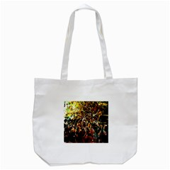 Dscf3438   Golden Flowers In Ceramics Tote Bag (white) by bestdesignintheworld
