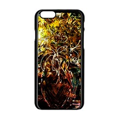 Dscf3438   Golden Flowers In Ceramics Apple Iphone 6/6s Black Enamel Case by bestdesignintheworld