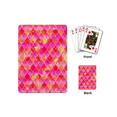 Squama Fhis Paint Flower Of Life Pattern Playing Cards (mini)  by Cveti