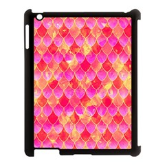 Squama Fhis Paint Flower Of Life Pattern Apple Ipad 3/4 Case (black) by Cveti