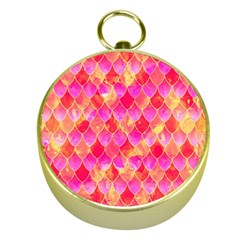 Squama Fhis Paint Flower Of Life Pattern Gold Compasses by Cveti
