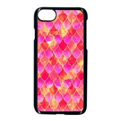 Squama Fhis Paint Flower Of Life Pattern Apple Iphone 7 Seamless Case (black) by Cveti