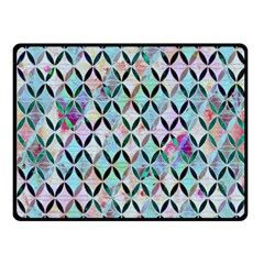 Rhomboids Flower Of Life Paint Pattern Fleece Blanket (small) by Cveti