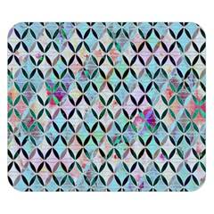 Rhomboids Flower Of Life Paint Pattern Double Sided Flano Blanket (small)  by Cveti