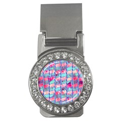 Leaves Paint Flower Of Life 01 Money Clips (cz)  by Cveti