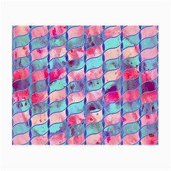Leaves Paint Flower Of Life 01 Small Glasses Cloth (2 Side) by Cveti