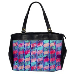 Leaves Paint Flower Of Life 01 Office Handbags by Cveti