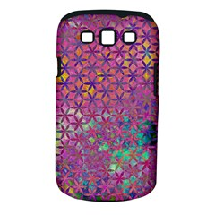 Flower Of Life Paint Purple  Samsung Galaxy S Iii Classic Hardshell Case (pc+silicone) by Cveti