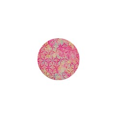 Flower Of Life Paint Pattern 08jpg 1  Mini Buttons by Cveti