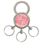 Flower Of Life Paint Pattern 08jpg 3-Ring Key Chains Front