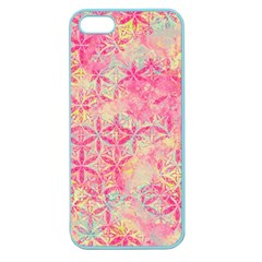 Flower Of Life Paint Pattern 08jpg Apple Seamless Iphone 5 Case (color) by Cveti