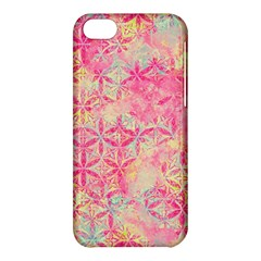 Flower Of Life Paint Pattern 08jpg Apple Iphone 5c Hardshell Case by Cveti