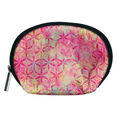 Flower Of Life Paint Pattern 08jpg Accessory Pouches (medium)  by Cveti