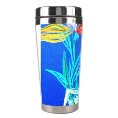 Dscf1451   Birds If Paradise In A Cristal Vase Stainless Steel Travel Tumblers by bestdesignintheworld