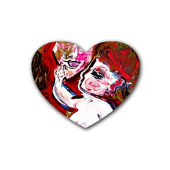 Dscf1554   Madonna And Child Rubber Coaster (heart)